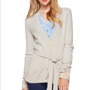 Lilly Pulitzer cardigan with belt